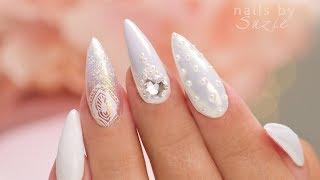 Download White On White - 5 Nail Art Designs Video
