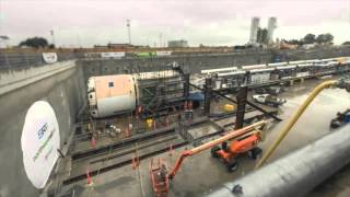 Download Sydney Metro tunnelling project Video