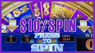 Download 🎰🎡$10/Spin on Wheel of Fortune TRIPLE GOLD 🎡 ✦ Slot Machine Pokies w Brian Christopher Video