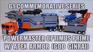 Download Powermaster Optimus Prime w/ Apex Armor (God Ginrai) Review! ″That's Just Prime!″ EP 101! Video