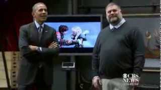 Download DreamWorks animators show Obama motion capture technology for ″How to Train Your Dragon 2″. Video