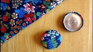 Download Episode 60: How to Make Fabric Covered Buttons Video