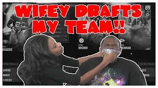 Download LETTING MY WIFE DRAFT MY TEAM!! - Madden 16 Ranked Draft Champions Video