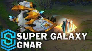 Download Super Galaxy Gnar Skin Spotlight - Pre-Release - League of Legends Video