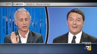 Download Matteo Renzi e Marco Travaglio: il Si e il No al Referendum Video