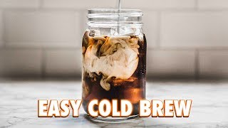 Download The Easiest Cold Brew Ever: 2 Ways Video