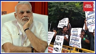 Download 'Go Back, Modi' Slogans Chanted On PM Modi's Arrival In Chennai For Defence Expo Video