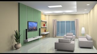 Download Interior design tutorial using Google Sketchup Video