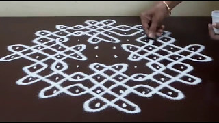 Download 10 DOTS KOLAM / KAMBI / CHIKKU KOLAM / Video