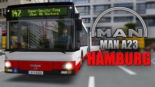 Download OMSI 2: MAN Stadtbusfamilie #1 - Mit dem MAN Lion's City A23 Gelenkbus durch Hamburg-Harburg! Video