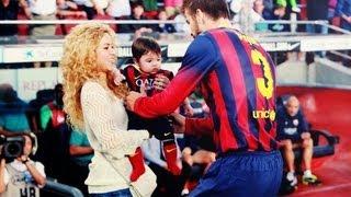 Download Shakira y Milan apoyan a Pique (las mejores imagenes) Video