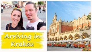 Download TRAVEL POLAND | KRAKAU Vlog 46 - Arriving in Krakau. Video