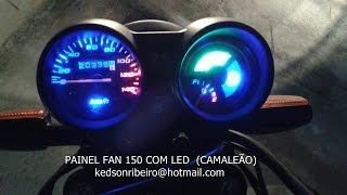 Download painel da fan 150 com led,s que ascendem na chave, passo a passo Video