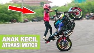 Download Takjub!! Stunt Rider Cilik adiknya Wawan Tembong - ATRAKSI FREESTYLE MOTOR Yamaha MT25 (Indonesia) Video