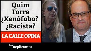 Download La calle opina: ¿El sucesor de Puigdemont es xenófobo? Video
