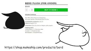 Download BERD PLUSHIES PREORDER Video