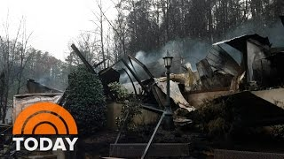 Download Tennessee Wildfires: Death Toll Climbs, Rescues Slowed By Mud, Rockslides | TODAY Video