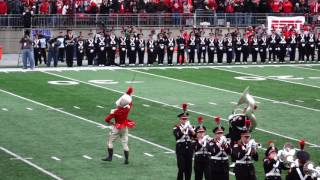 Download Entire Pregame Show OSU vs Michigan close-in view 11 26 2016 Script Ohio Video