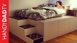 Download IKEA Hack Platform Bed DIY Video
