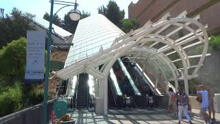 Download NEW Starway fourth escalator added to Universal Studios Hollywood Video
