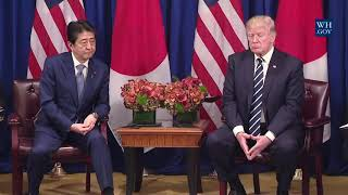 Download President Trump Participates in an Expanded Meeting with the Prime Minister of Japan Video