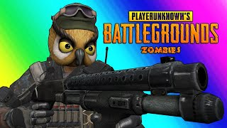 Download PUBG Zombies Funny Moments - Nogla Rage and Zombie Swarm Panic! Video