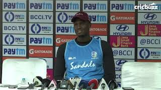 Download I'm playing the role of a father figure to the youngsters in the side - Jason Holder Video