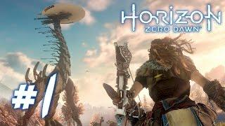 Download HORIZON ZERO DAWN Walkthrough - ROBOT DINOSAURS! | Part 1 (PS4) HD Video