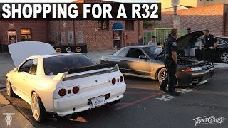 Download Shopping for a Nissan GTR Skyline R32 Video