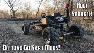 Download 420cc Lifted Go Kart Gets Off-Road Upgrades! Video