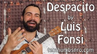 Download Despacito - Luis Fonsi remix with Justin Bieber - Easy Beginner Ukulele Tutorial Video