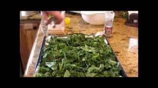 Download Dehydrated And Oven Roasted Kale With Linda's Pantry Video