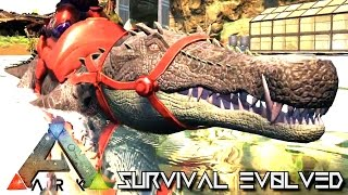 Download ARK SURVIVAL EVOLVED - NEW DINO KAPROSUCHUS TAMING !!! (GAMEPLAY NEW UPDATE v248) Video