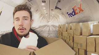 Download I Mailed Myself in a Box *UK to USA* (HUMAN MAIL CHALLENGE PART 3 - BY AIR) Video
