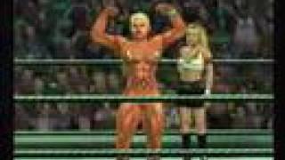 Download SvR2007 New Female Bodybuilder debut match Video