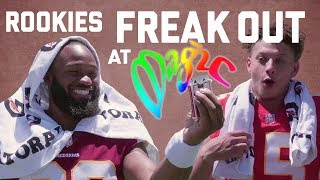 Download Rookies FREAK OUT At Magic!   NFL Video