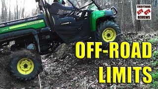 Download New Gator 825i Trail Footage: Off-Road LIMITS: Polaris Ranger Competition, Rzr: No Bed? Video