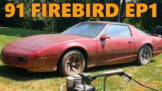 Download New $100 Project Car: 1991 Pontiac Firebird Rescue (Ep.1) Video