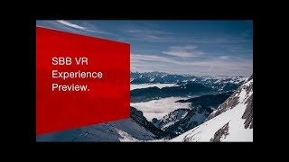 Download SBB VR Experience Preview - App Trailer. (App Store) Video