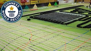Download Epic domino show - Guinness World Records Video