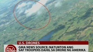 Download 24Oras: GMA news source: Natunton ang SAF troopers dahil sa drone ng Amerika Video