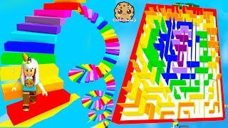 Download Easiest Obby Ever? Rainbow Shape Obstacle Course Roblox Video Video
