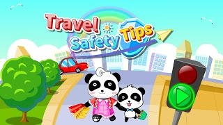 Download Travel Safety Tips For Kids & Baby Panda Games For Kids & Traffic Safety Video