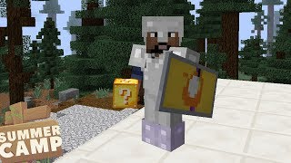 Download A SNOWY DISCOVERY! - Minecraft Summer Camp (10) Video