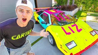 Download SHE RUINED MY LAMBORGHINI!! (STICKY NOTE GONE WRONG) Video