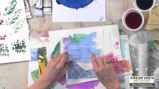 Download Creating a Watercolor Collage with Cathy Taylor Video