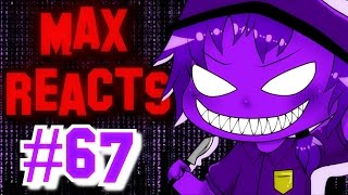 Download Max Reacts To - FNAF Purple Guy Revealed + Mastermax888 YouTube Poop Video