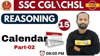 Download Class 15 ||#SSC CGL\CHSL| REASONING || By PULKIT SIR || Calendar Video