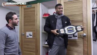 Download Giannis Antetokounmpo hosting Eurohoops! Part 4 Video