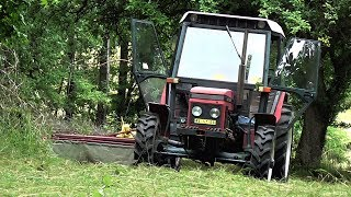 Download Zetor 6245 a ŽTR 165 - Sečení trávy na sadě //Full HD// *50fps* ORIGINAL ZETOR SOUND Video